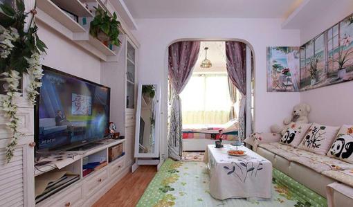 30平米一居室小户型装修图欣赏 hao123