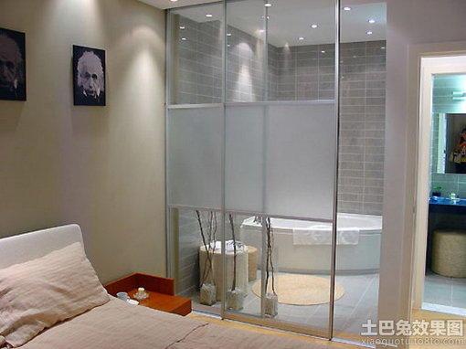 卧室洗手间门装修效果图 hao123网址导 高清图片