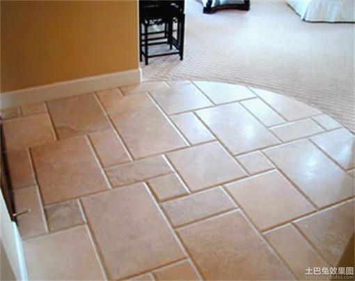 进门客厅地板砖效果图 客厅地板砖效果图 客厅地板砖装修效果图