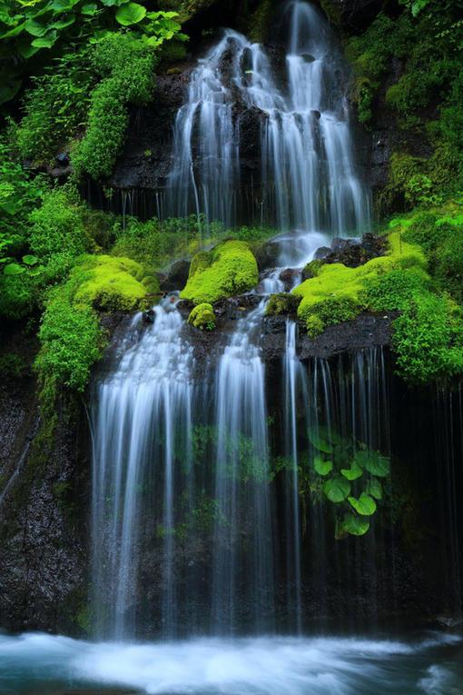 十里溪流 、百潭瀑布、世外桃源。 图片_hao1