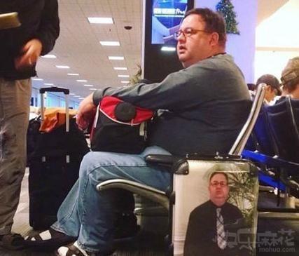 这样就不会丢行李了吧?