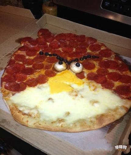 披萨也愤怒!